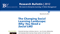 The changing social learning lanscape