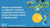 Using assessments to improve customer experience
